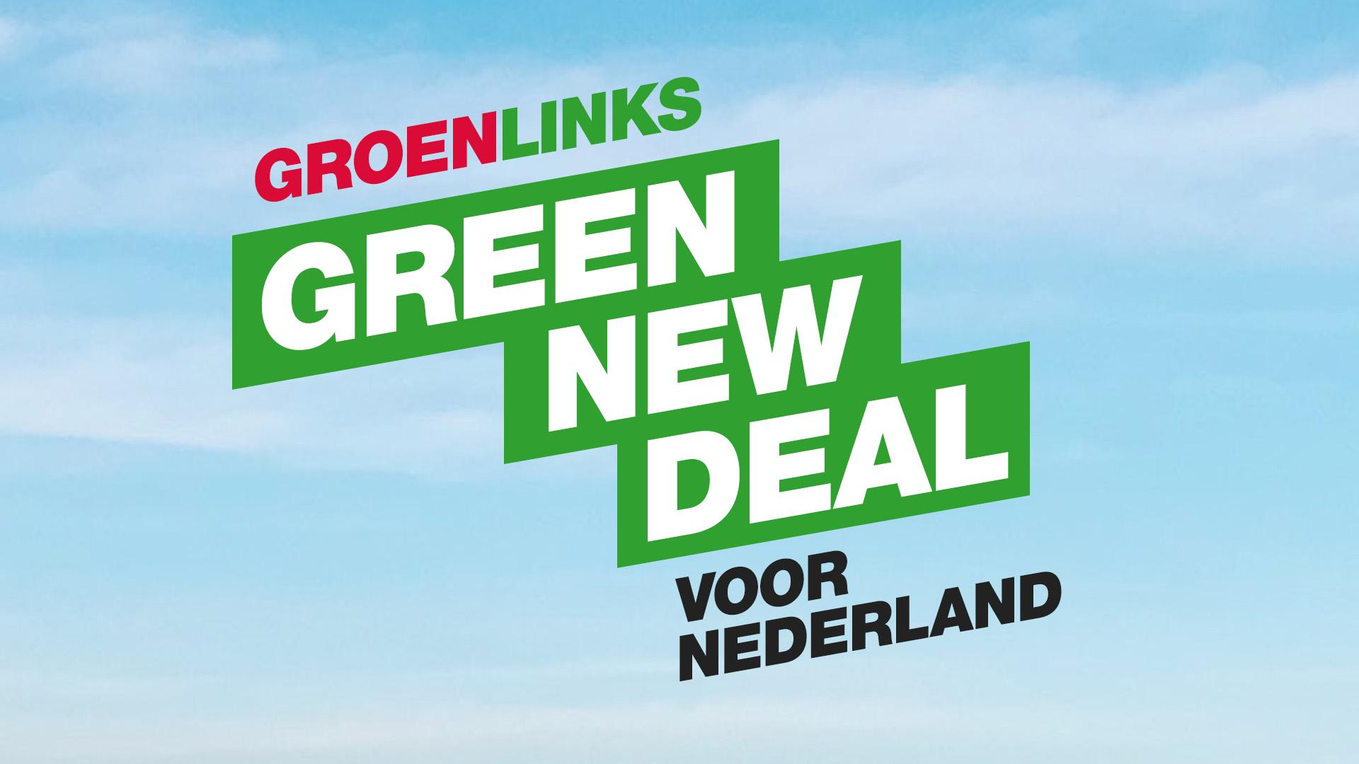 Logo van de Green New Deala
